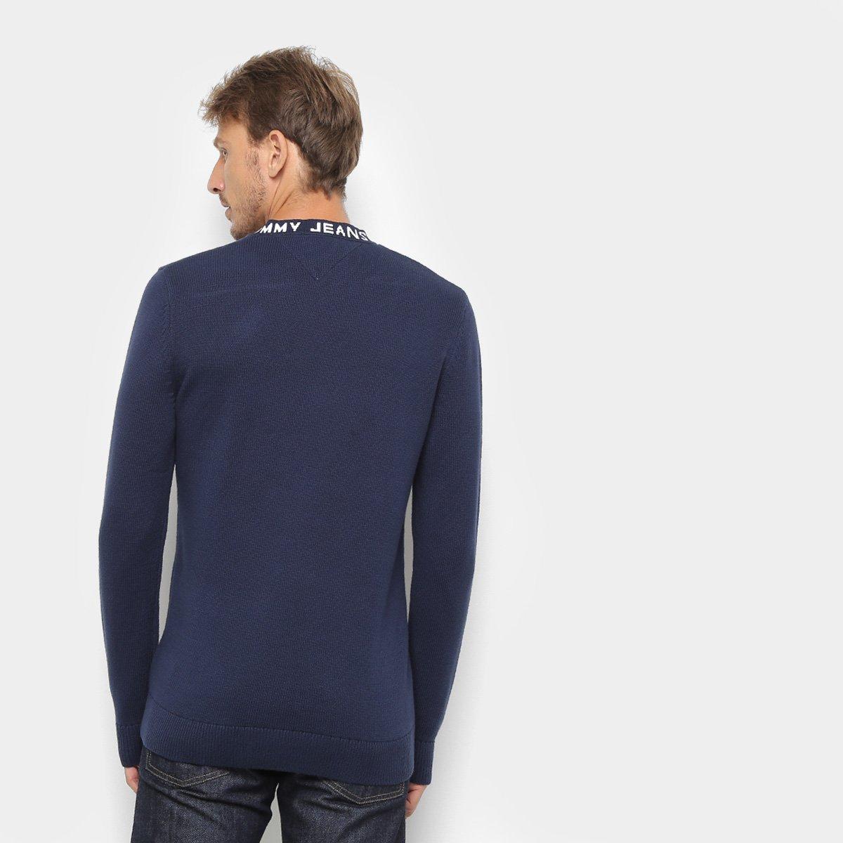Foto 2 - Suéter em Tricô Tommy Jeans Masculino