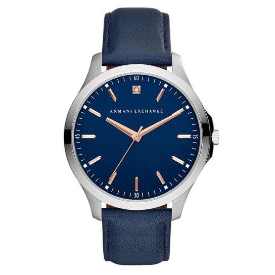 6a77d2332de Relógio Armani Exchange Masculino Hampton - AX2406 0AN AX2406 0AN - Azul