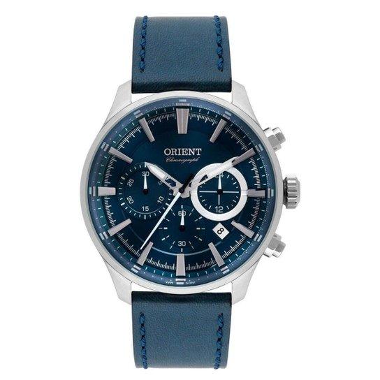 1be6df566a0 Relógio Orient Masculino Eternal MBSCC051 D1DX - Azul - Compre Agora ...