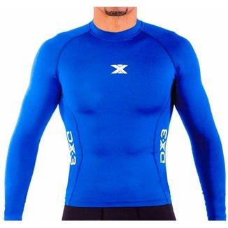 9db0b76728bdb Camisa DX3 XSOFT Masculina Manga Longa Corrida Fitness Trekking 91027