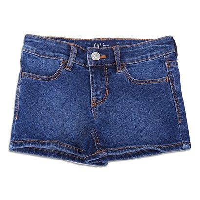 Short Jeans Infantil Gap Estonado Feminino