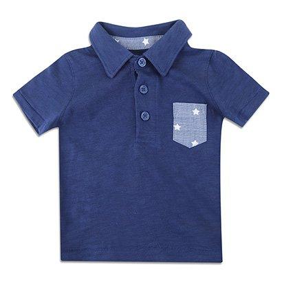 Camisa Polo Infantil GAP Básica Masculina