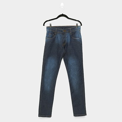 Calça Jeans Reta Ecxo Masculina