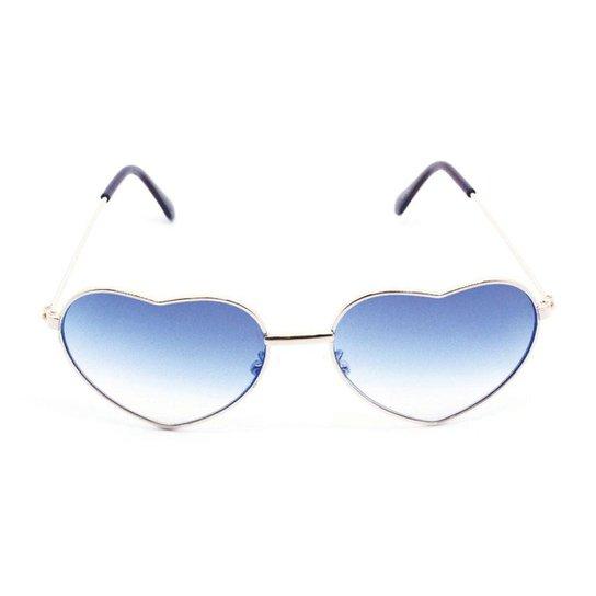 7333215a8 Óculos de Sol Khatto Infantil Love Feminino - Azul   Netshoes