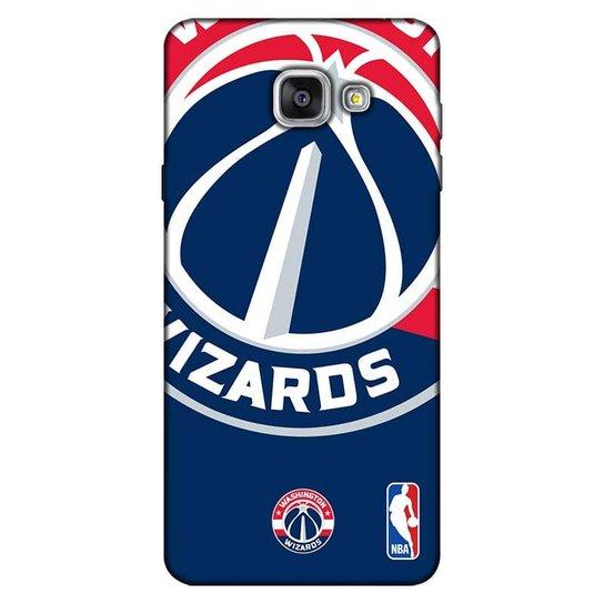 37067dde5 Capinha para Celular NBA - Samsung Galaxy A7 2016 - Washington Wizards -  D14 - Azul