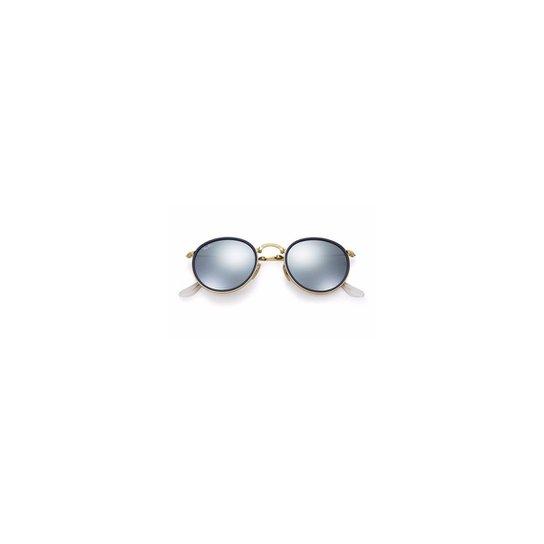 Óculos de Sol Ray Ban Round Dobrável. - Compre Agora   Netshoes 40d0d1abbe