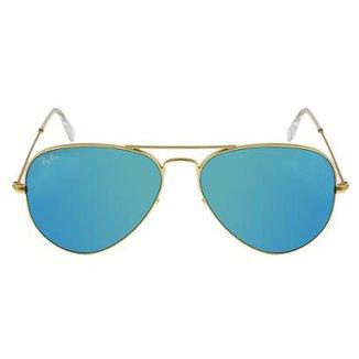 e331f24efb21f Óculos de Sol Ray-Ban Aviator 58 RB3025 Esp Dr Az 112-17