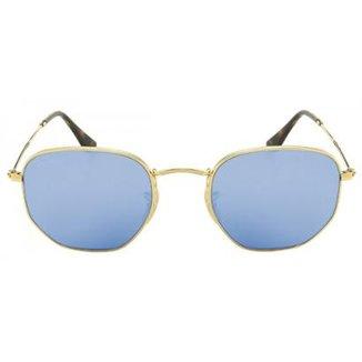 bd747bf2a Óculos de Sol Ray-Ban Hexagonal RB3548N - Espelhado 001/9O/54