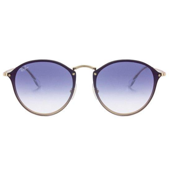 b8fe0599a9949 Óculos de Sol Ray-Ban Blaze Round RB3574N - Polarizado 001 9A 59 ...