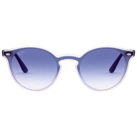 363f0d0e0 Óculos de Sol Ray-Ban Blaze Round RB4380N - 6355-U0/37 - Azul   Netshoes