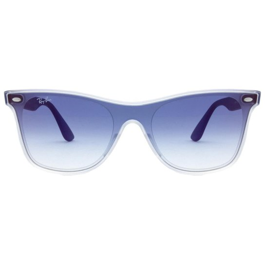 56b69cb91 Óculos de Sol Ray-Ban Blaze Wayfarer RB4440N - 6356/X0/41 - Azul ...