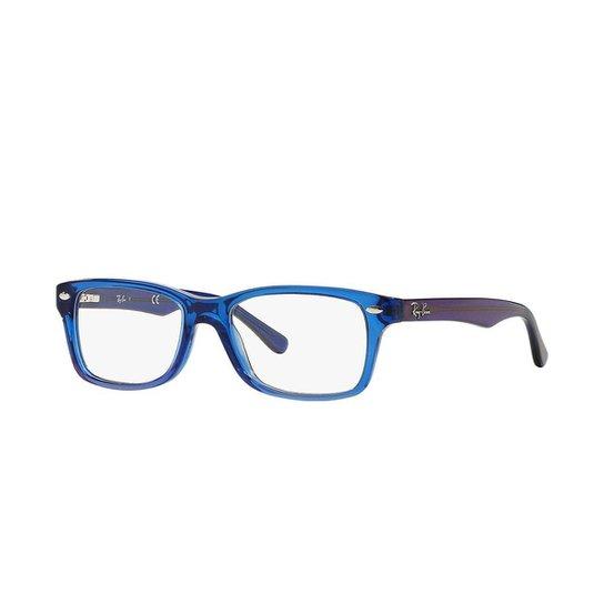 Armação de Óculos Ray-Ban RB1531 - Azul - Compre Agora   Netshoes beb7192818