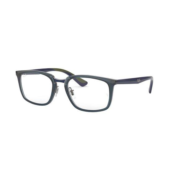 Óculos de Grau Ray-Ban RB7148 Masculino - Azul - Compre Agora   Netshoes 2eed8d3835