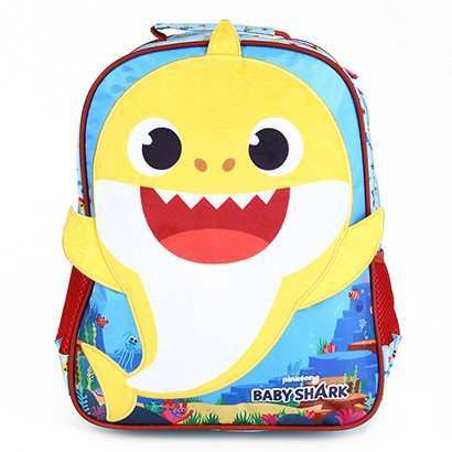 Mochila Escolar Infantil Xeryus Baby Shark Plush