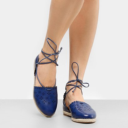 Sapatilha Shoestock Laser Floral Feminina