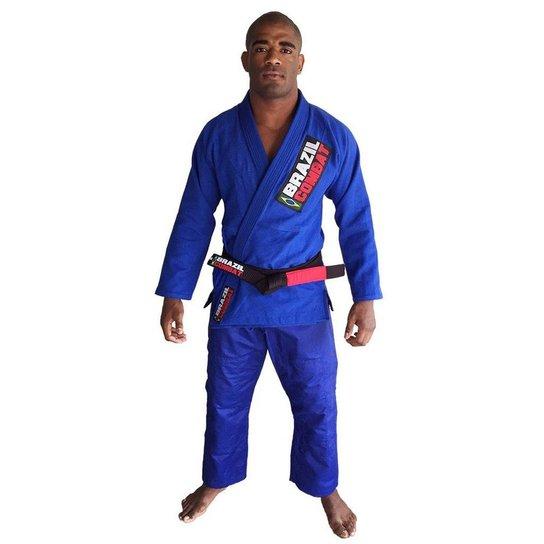 b2979c2371 Kimono Jiu Jitsu Brazil Combat Starter - Azul - Compre Agora