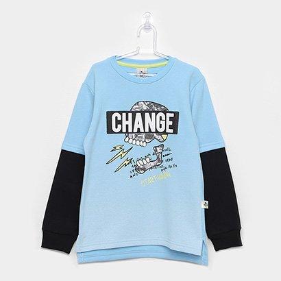 Moletom Infantil Andritex Change Masculino