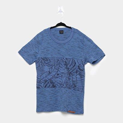 Camiseta Infantil Rovitex Folhagens