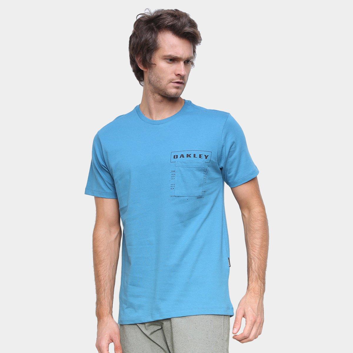 Camiseta Oakley Super Braded Pocket Sp Masculina