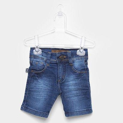 Bermuda Infantil Mox Jeans Básica-1271.3F