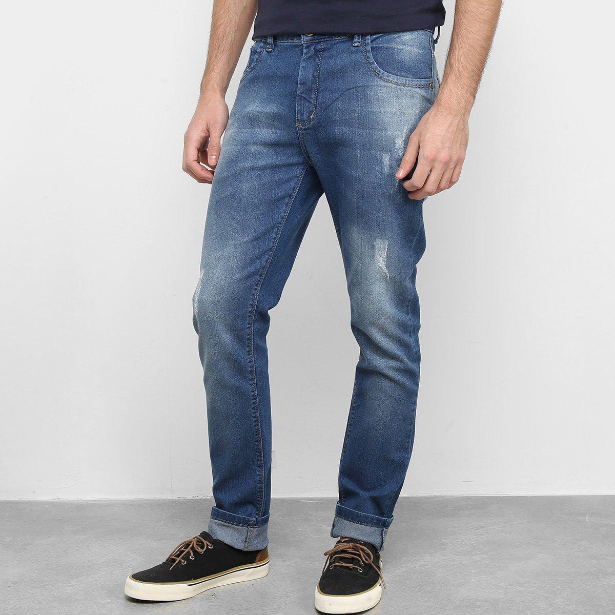 Calça Jeans Mucs Skinny Masculina