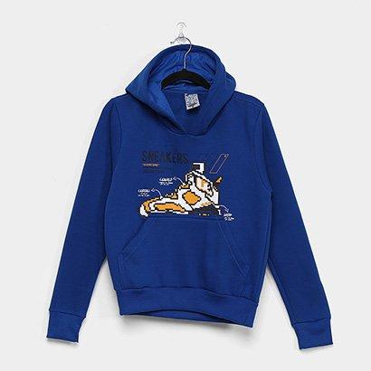 Moletom Canguru Juvenil Overcore c/ Capuz 34.07.0098 Masculino