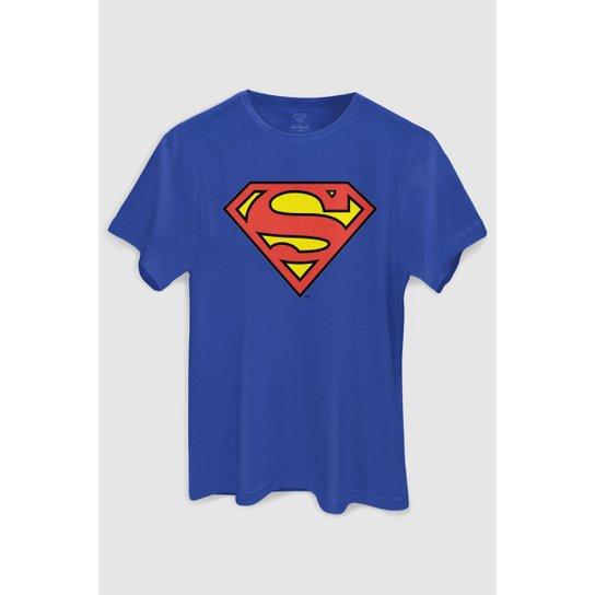 8afa304c7 Camiseta DC Comics Superman Oficial bandUP! - Azul - Compre Agora ...