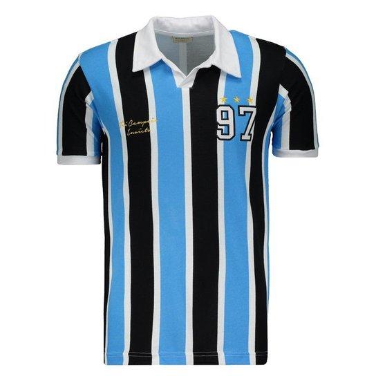 Camisa Retrômania Grêmio 1997 - Compre Agora  2c3b187998701