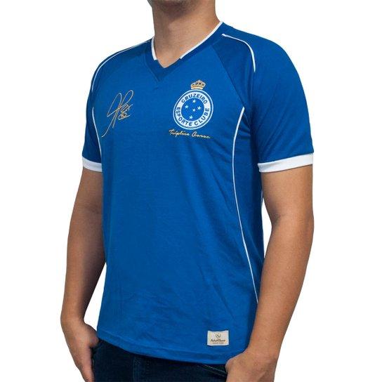 Camisa Retrô Mania Cruzeiro 2003 - Alex - Tríplice Coroa Masculina - Azul c637d50e30ed7