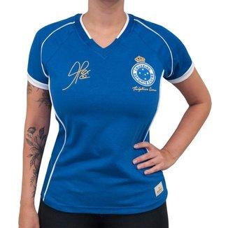 2eb477c955 Camisa Retrô Mania Cruzeiro 2003 - Alex - Tríplice Coroa Feminina