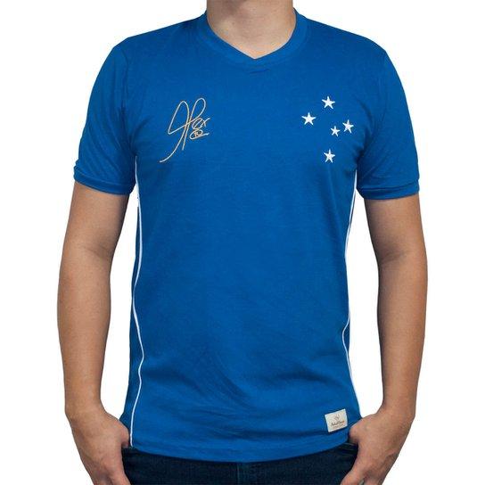 Camisa Retrô Mania Cruzeiro 2003 - Alex - Copa do Brasil Masculina - Azul a5617c36e9d80