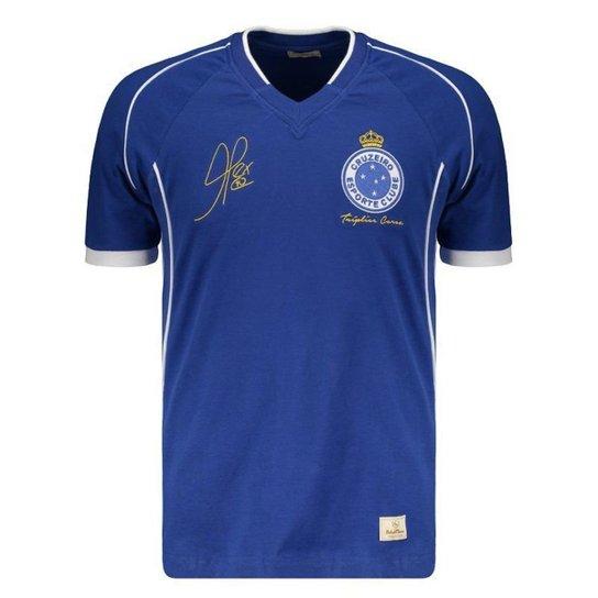 Camisa Retrômania Cruzeiro 2003 Tríplice Coroa - Azul - Compre Agora ... 8194cdcffbcf3