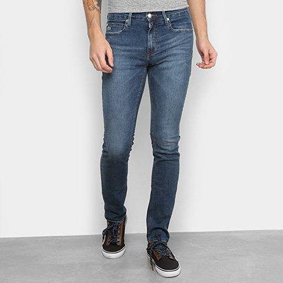 Calça Jeans Skinny Lacoste Live Estonada Masculina