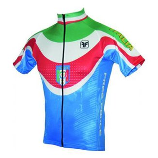 afe45200cc Camisa Ciclismo Itália Free Force
