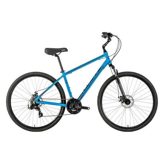 587f59c66 Bicicleta Urbana Groove Blues Disc Aro 700 2018 - Azul