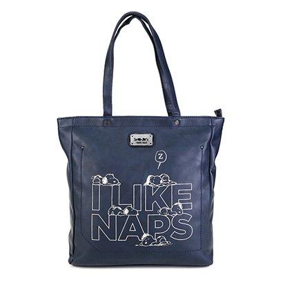 Bolsa Snoopy Shopper Bag Grande Feminina