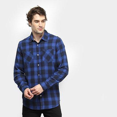 Camisa Gajang Xadrez Ransom Masculina