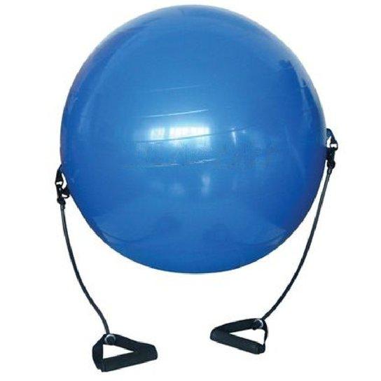 Bola Suiça Pilates yoga + Puxador Corda - WCT Fitness - Azul ... 47e2732df57a8