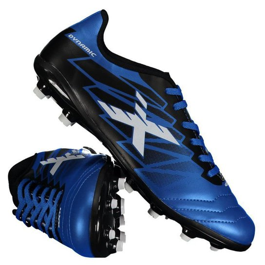 98dee2d38a8d7 Chuteira Campo Oxn Dynamic Masculina - Azul | Netshoes