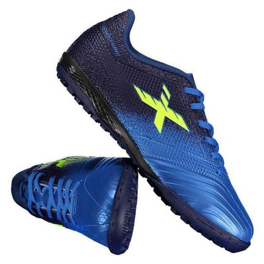 ba99bb11e92 Chuteira Society Oxn Fusion Grip 2 Masculino - Azul - Compre Agora ...