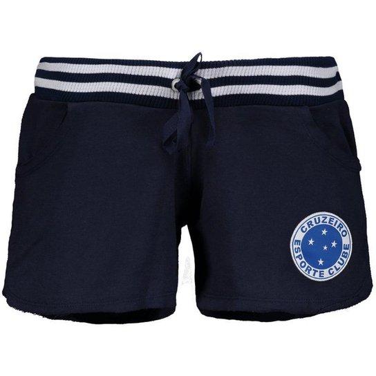 98f6b231d6 Short Cruzeiro Feminino - Azul