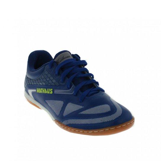 34f36f7894 Chuteira Mathaus Unika Flother - Azul - Compre Agora