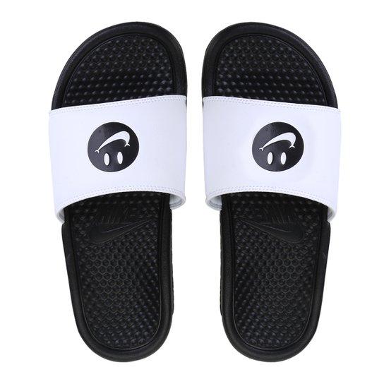 cd88fae5da961 Chinelo Nike Benassi Jdi Print Masculino - Preto e Off White | Netshoes