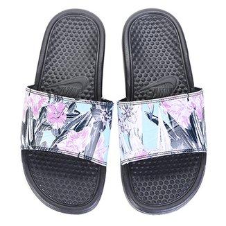 8b3f74d1ac Sandália Nike Benassi Jdi Print Feminina