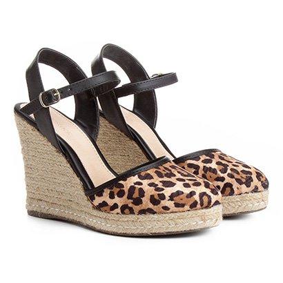 Sandália Plataforma Shoestock Fechada Feminina