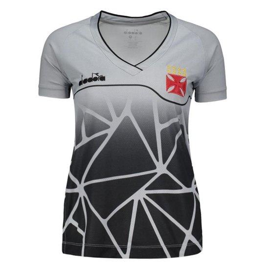 03b0f8398281f Camisa Diadora Vasco Treino 2018 Atleta Feminina - Compre Agora ...