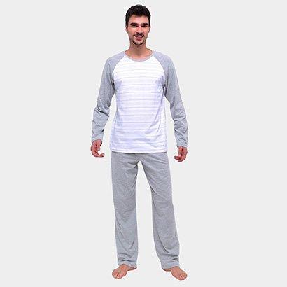 Pijama Mash Cotton Longo Masculino