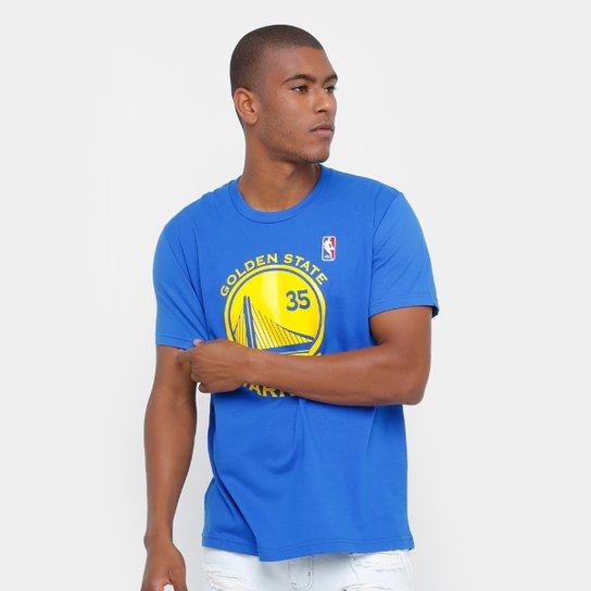 Camiseta NBA Golden State Warriors Durant 35 Masculina - Azul Royal ... 8e8440c411d