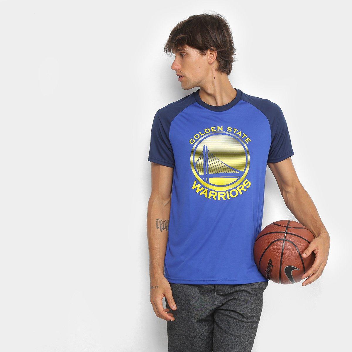 6802e3b47 Camiseta NBA Golden State Warriors Masculina - Shopping TudoAzul