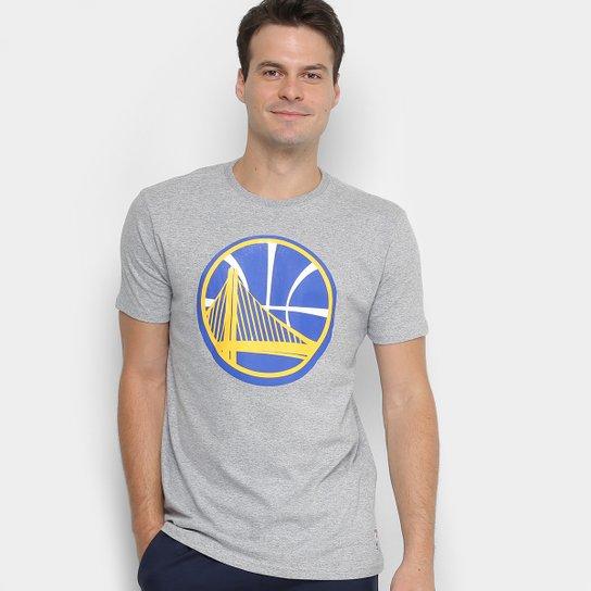 Camiseta NBA Golden State Warriors Big Logo Masculina - Compre Agora ... a1e4ac3871a1d